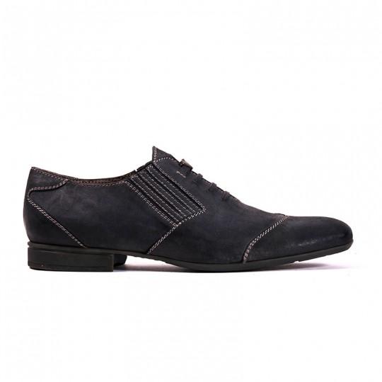 scarpa pantofola blu