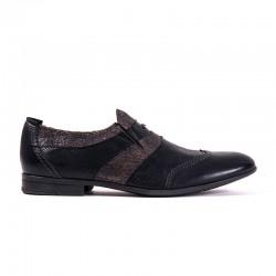 pantofola nera elegante