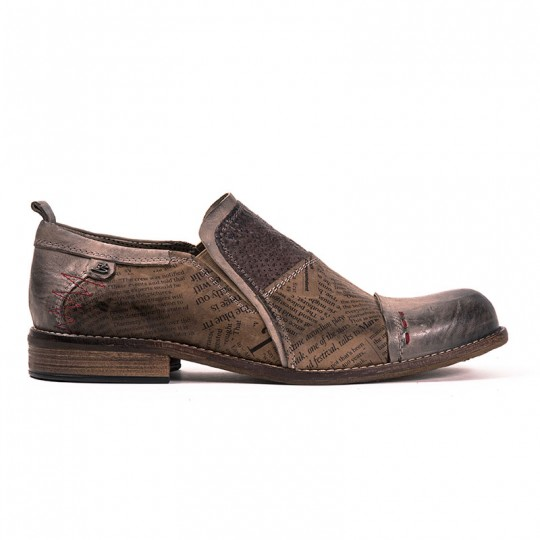 scarpa pantofola vintage