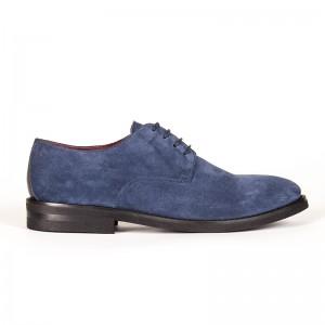 scarpa derby blu