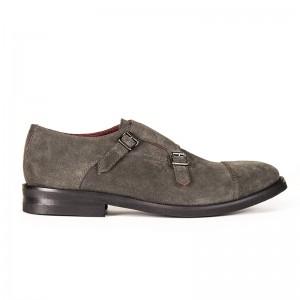 scarpa derby doppia fibbia